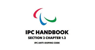 Revidovaný antidopingový kodex IPC