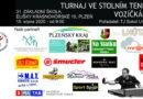Již tuto sobotu se koná turnaj ve stolním tenise v Plzni.